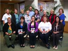 UWS staff who completed MHFA